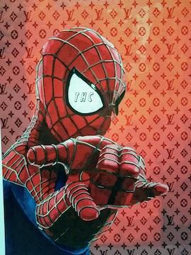 世界限定100枚!、thc World、DEATH NYC 、スパイダーマン