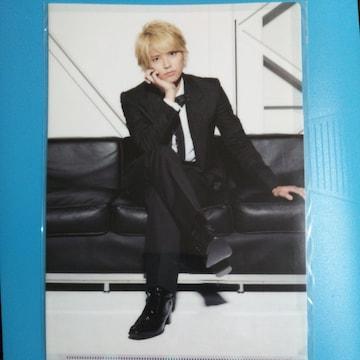 NEWS 手越祐也◇クリアファイル NEWS LIVE TOUR 2013 新品未開封