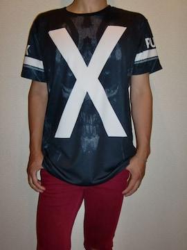 送料無料☆JXOS☆PUNK-X-Tシャツ☆XL