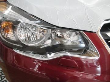 メッキ ヘッドライト リング インプレッサXV リム カバー