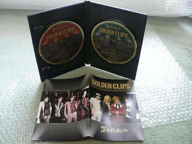 ゴールデンボンバー【GOLDEN CLIPS】初回限定盤(2DVD)PV集他出品 < タレントグッズの