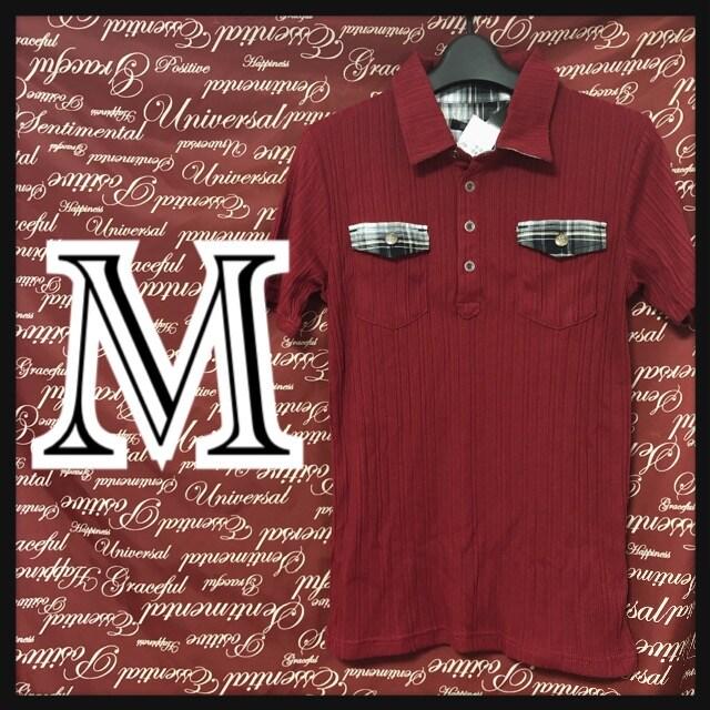 M・チェック使いテレコポロ新品/MCA-607  < 男性ファッションの