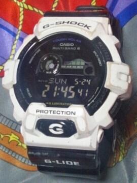 カシオGショックタフソーラー電波腕時計GWX-8900G-LIDE定価24200円