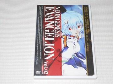 DVD★新世紀 エヴァンゲリオン Vol.2 レンタル用