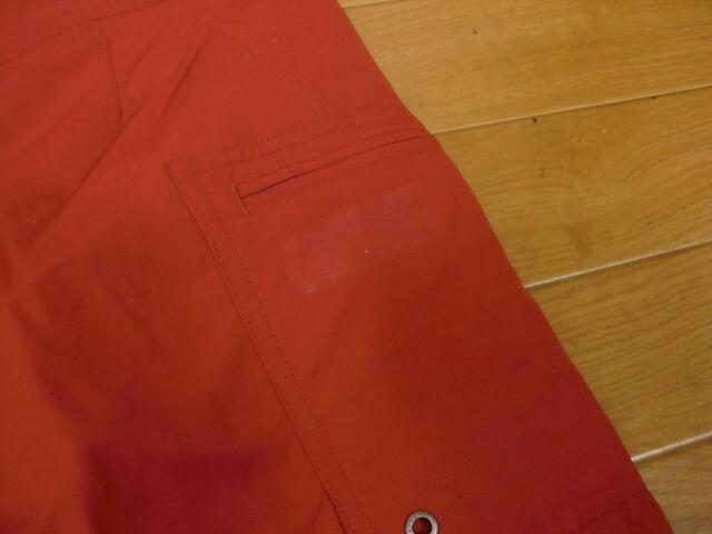 PATAGONIA パタゴニア ボードショーツ 赤 W32 新品 < ブランドの