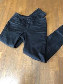【global work】Sサイズ黒定番パンツ綺麗シルエット