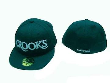 7 1/4 新品クルックス&キャセルCROOKS LA ストリートOGヒップホップ B系