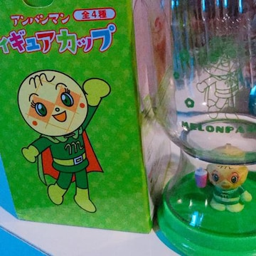 アンパンマンフィギュア カップ メロンパンナちゃん 非売品 新品