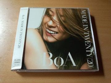 BoA CD「MADE IN TWENTY (20)」DVDき付●