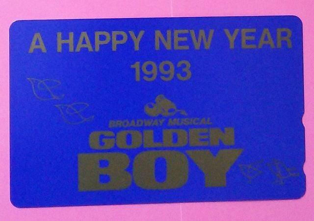 GOLDEN BOYのテレカ/諸星和己 光GENJI  < タレントグッズの