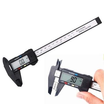 デジタルノギス 外径/内径/段差/深さ測定  高精度 0.1 〜 150mm