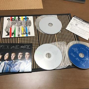 SMAPスマップ初回限定CD+DVD yes we are momentはDVDだけCD無