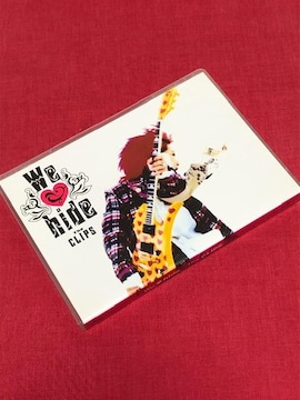 【即決】hide「We Love hide -The CLIPS-」(DVD2枚組)
