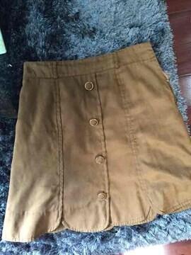 アプワイザーベロア風スカート新品同様サイズ2
