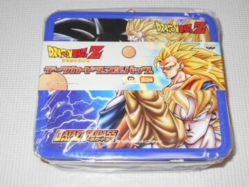 ドラゴンボールZ データカードダス缶バッグ ブルー★新品未開封