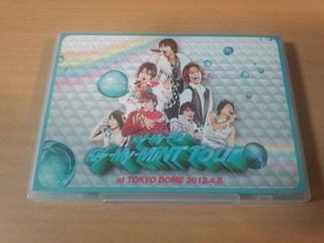 Kis-My-Ft2 DVD「Kis-My-MiNT Tour at 東京ドーム 2012.4.8」●