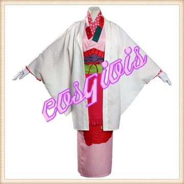 地縛少年花子くん 弥子 みこ 岬の階段 コスプレ衣装 和装 和服