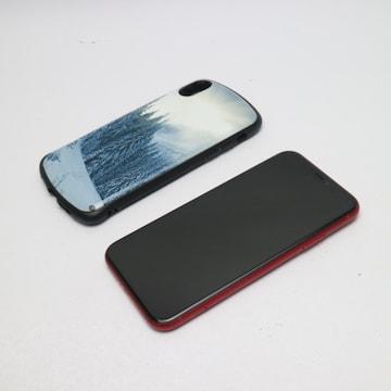 ●美品●au iPhoneXR 64GB レッド RED●本体 白ロム●