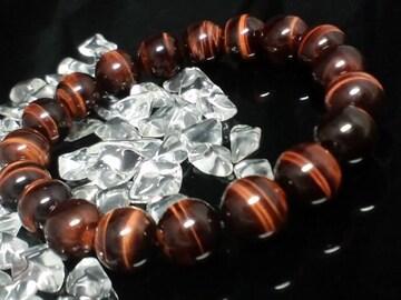 天然石☆レッドタイガーアイ10ミリ赤虎目石数珠