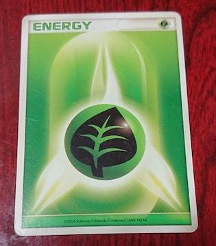 ポケモンカード 基本くさエネルギー 2006 エネルギー