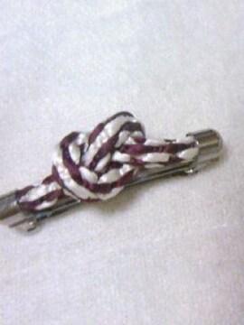 手作り組み紐で作った髪止め<シルク100%>