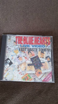 ブルーハーツ  EAST  WEST  TOUR  91
