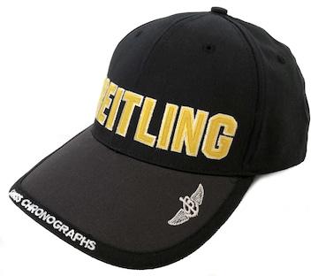 新品同様ブライトリング帽子キャップコットン素材ロゴ入