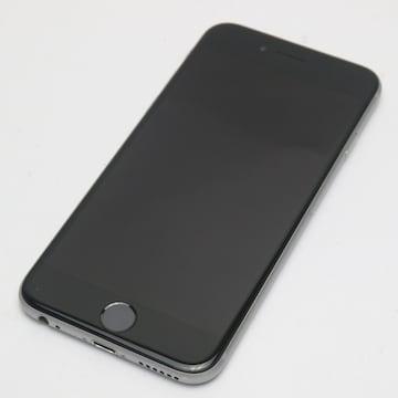 ●安心保証●美品●au iPhone6 64GB スペースグレイ●白ロム