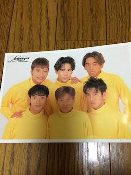 激レア!メンバー6人時代ジャニーズショップカード