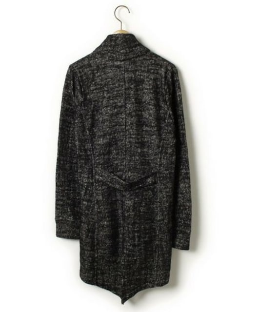 sharespiritシェアスピリット  変形カーディガン 40 < 女性ファッションの