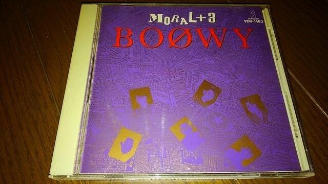 CDソフト BOOWY/MORAL+3  < タレントグッズの