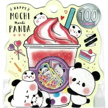 ★フレークシール★MOCHI mochi PANDA★21ピース