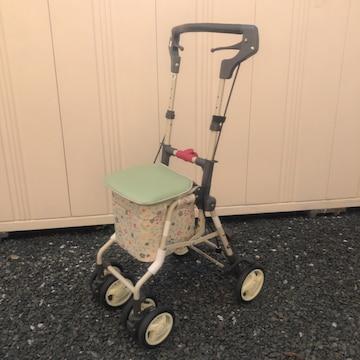 即決 シルバーカー ミニティ 歩行車 歩行器 手押し車 島製作所