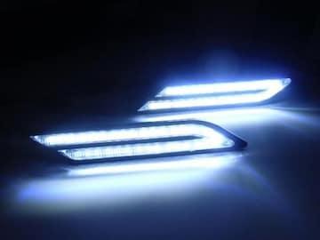 BMW風LEDデイライト・イルミネーション/白色・ホワイト/VIP仕様