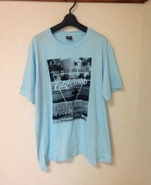ZEKY 大きいサイズ◆アメカジ 3L サーフ コットン Tシャツ