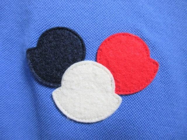 ☆MONCLER モンクレール ワッペン ポロシャツ 半袖/メンズ/S☆国内正規品☆新品 < ブランドの