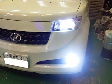 トヨタ bB  2#ハロゲンへッドライト/フォグ LED化 NEW