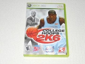 xbox360★COLLEGE HOOPS 2K6 海外版