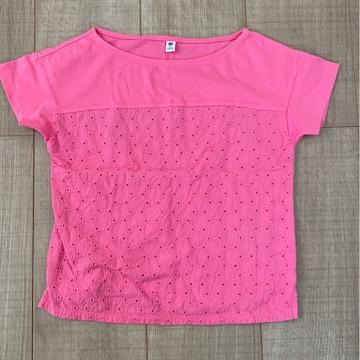 UNIQLO kids半袖Tシャツ110女の子ピンク