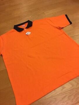 UniteAthle  カノコ半袖ポロシャツ  オレンジ  sizeXXXL→XXL