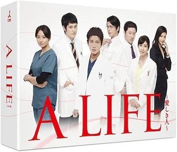■DVD『A LIFE 愛しき人 DVD-BOX』木村拓哉  竹内結子