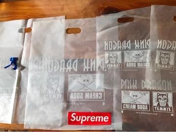 ピンクドラゴン クリームソー シヨツプ 透明袋6枚