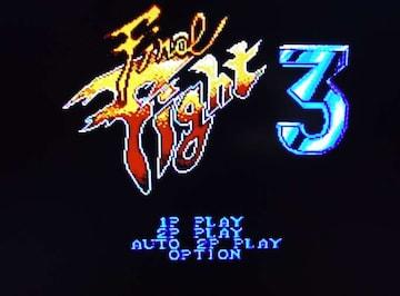 Final Fight3 ファイナルファイト3 カセットのみ