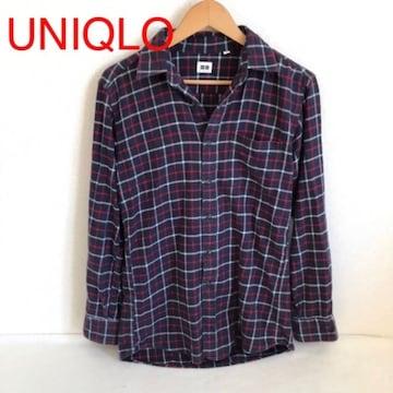 #UNIQLOチェックシャツ
