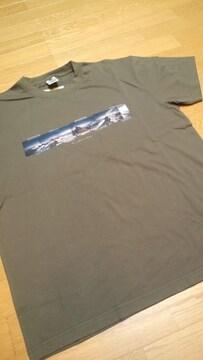 Colombiaコロンビア デザインプリントTシャツ チャコールグレーサイズXL