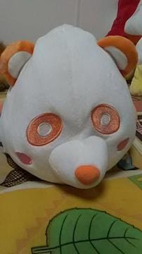 AAA・え〜パンダ・もちもちBIGぬいぐるみ・オレンジ西島