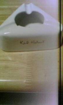 カールヘルム 灰皿 ユーズド 白 陶器