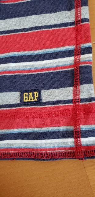 GAP ギャップ ボーダー 長袖 Tシャツ L 140 < キッズ/ベビーの