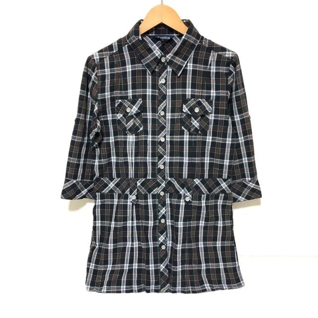 #チェックシャツ  < 女性ファッションの