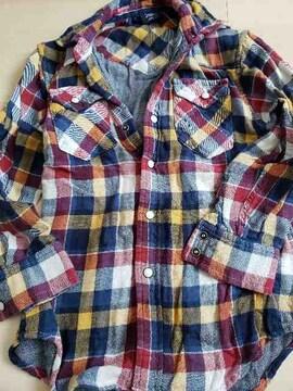 GAPキッズ120チェックシャツ